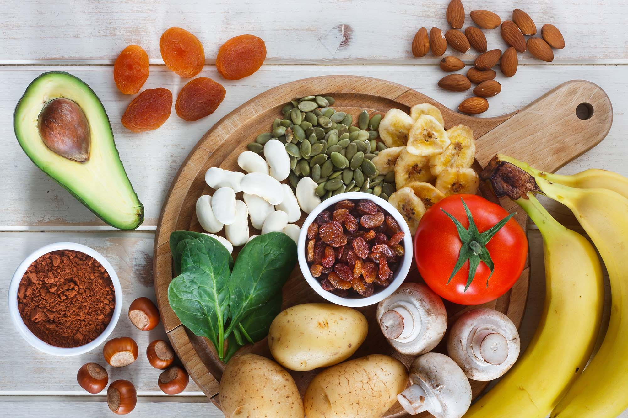Potasyum içeren yiyecekler nelerdir